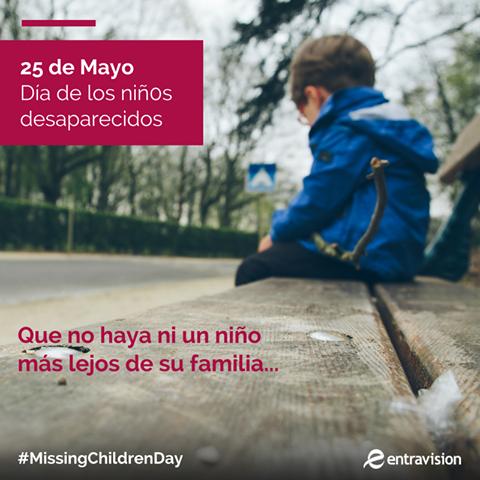 Missing Children Day canvas