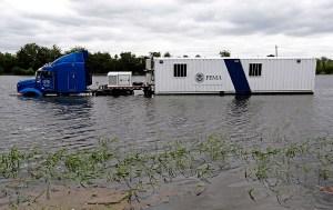Houston, Camión de FEMA