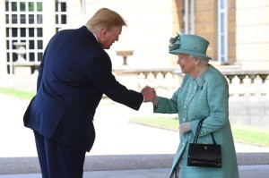 Donald Trump en Londres